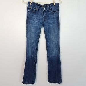 7 For All Mankind Bootcut Jeans Women's Sz 27